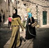 Women near damascus gate jerusalem israel