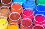Colours-colorful-colored powder jars