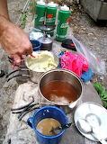 Campsite Dinner