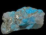 Turquoise Pyrite Quartz