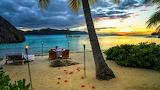 Romantic dinner in Paradise