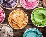 Containers of Ice Cream