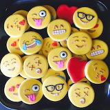 Sweet emojis @ Busy Bee Cakery