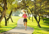 Girl-running-jogging-woman-workout-park-trees-path