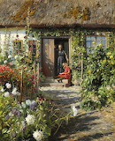 An Old Farmhouse ~ Peder M. Monsted
