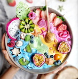 Colorful Smoothie Bowl