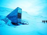 Svalbard Global Seed Vault Entrance, Spitsbergen