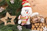 snowman, christmas decorations