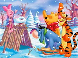 Pooh's Winter wonderland
