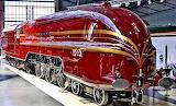 The Dutchess of Hamilton steam engine