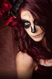 Halloween Sugar Skull Lady