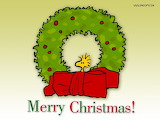 ^ Christmas greeting from Woodstock