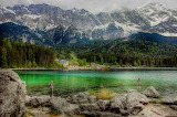 Eibsee-Bavaria Germany