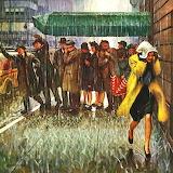 Rainy Wait For A Cab~John Falter
