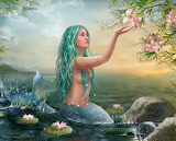 Mermaid Ariel by Alena Lazareva