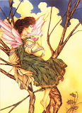 Pouting Faerie in a Tree, K.I.S.S.I.N.G...