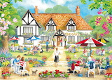 Summer evening at the pub - Claire Comerford