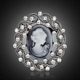 Cameo-brooch-Antique-Gold-Silver