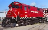 Train Locomotive Minnesota Commercial 316