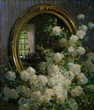 The mirror and the flowers