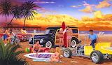 A Day at the Beach - Bruce Kaiser