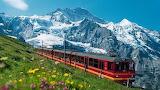Chemin de fer de la jungfrau - Suisse