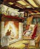 Cozy Fire~ Jill Barklem Brambly Hedge
