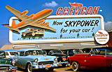 1950's Chevron Billboard