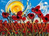 ^ Poppies ~ Justin Gaffrey