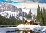 Emerald Lake Lodge in Yoho,Canada