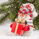 *Merry Snowman...