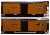 Rapido TH&B Boxcars
