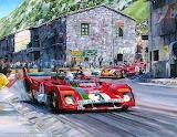 Ferrari targa Florio 1972-Michael Turner