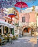 Rethymnon fountain bar