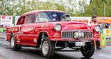 1955 Chevrolet drag car