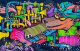 Peru,Lima-street art graffiti