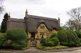 ^ Cotswold, England cottage home