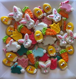 ^ Easter buttons