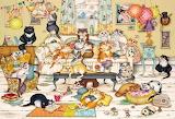 Feline Family Life