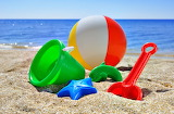 Sand Toys at the Beach