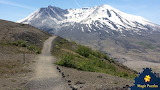 Mount St. Helens on Oregon - Washington border by Heide Unger fr