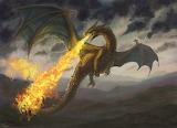 Fantasy Art Fire Dragon