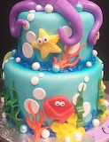 Under the sea cake @ le' Bakery sensual