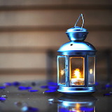 ♥ Candle Lamp...