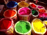 ☺ Colours from India...