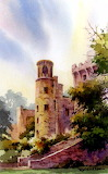Tower at Blarney Castle, Ireland by Roland Lee