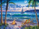 Coastal Twighlight - Darrell Bush