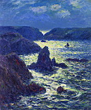 Rocks at Goulphar by Henri Moret 1904