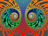 Colorful fractal abstract