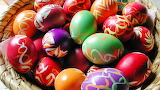 #Beautiful Bright Easter Eggs